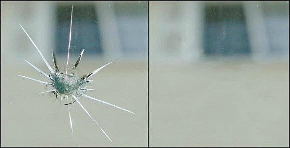 Ремонт трещин лобового стекла своими руками фото